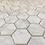 Thumbnail: Enamel Hexagon Carrarra