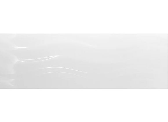 Pure White Gloss Wave