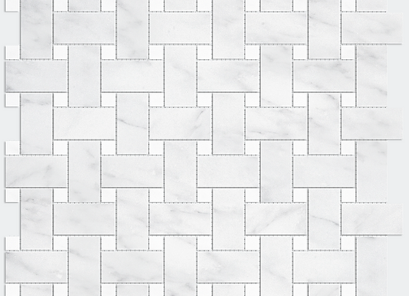 Mix Marble White Weave
