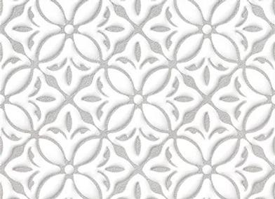 Art Decore Flower Gris