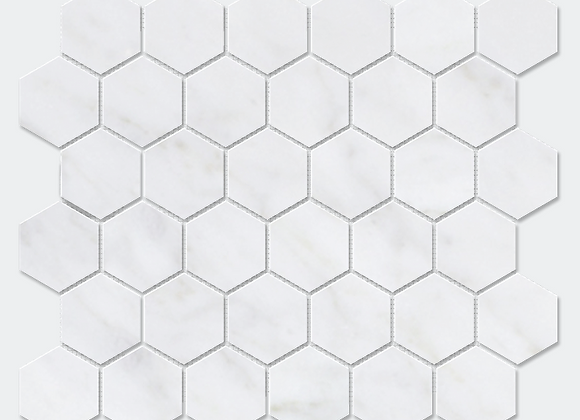 Mix Marble Hexagon Mosaic