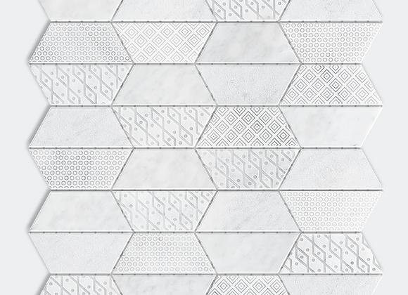 Bohemian White Mosaic