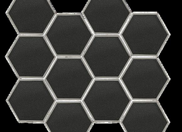 Diamond Hex Black