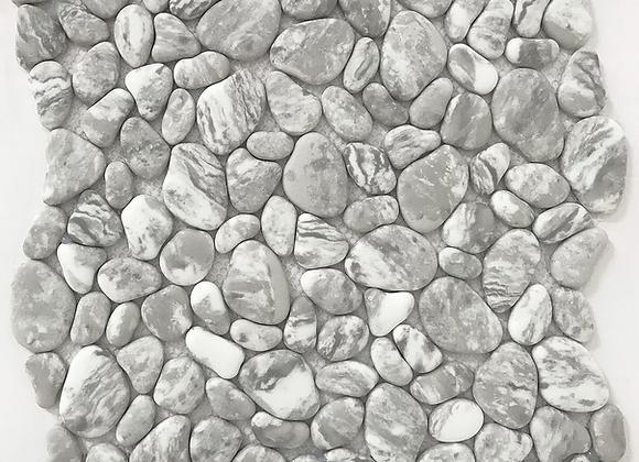 River Rock Enamel Carrara