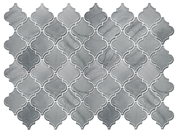 Glass Lantern Fade Grey