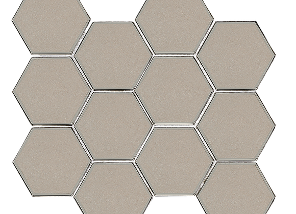 Diamond Hex Taupe