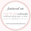 Feature on CoutureColorado.com 2014