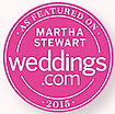 Featured on MarthaStewartWeddings.com 2015