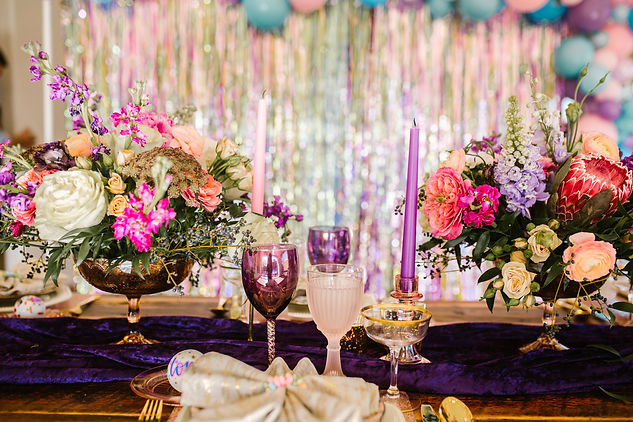 Floral Tablescapes and design