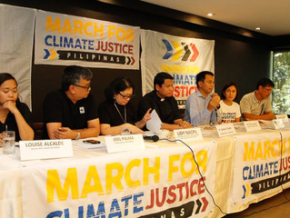 PH groups launch climate justice march