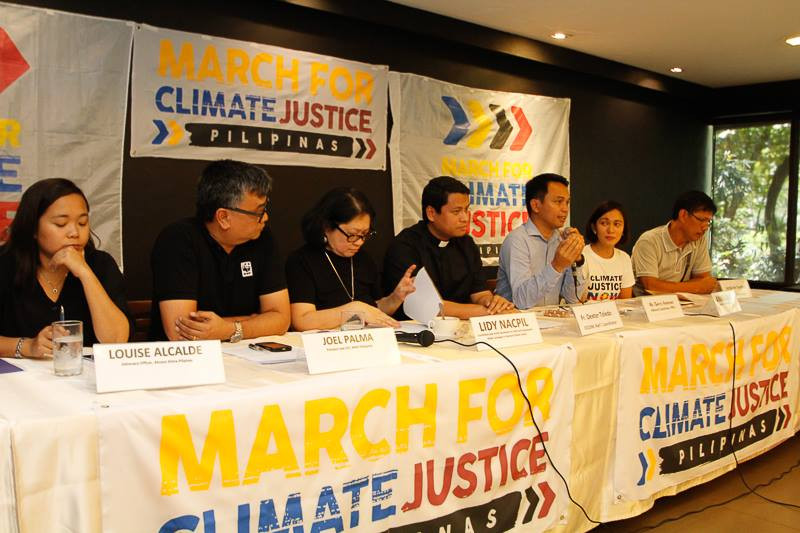 March for Climate Justice press launch