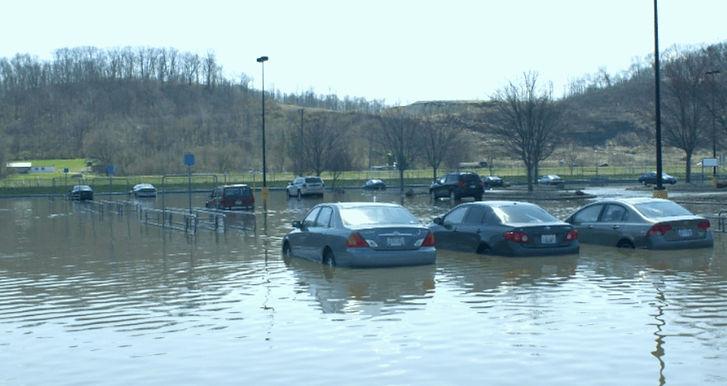 parking lot drainage solution