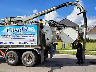 catch basin cleaning services