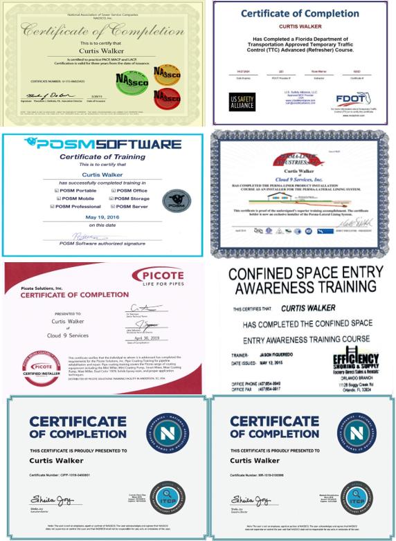 curtis walker certification