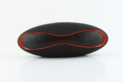 Black Mini Gridiron Bluetooth Speaker