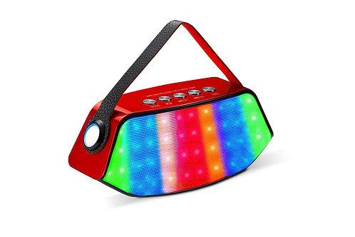 Red / Black Flash LED Bluetooth Speaker