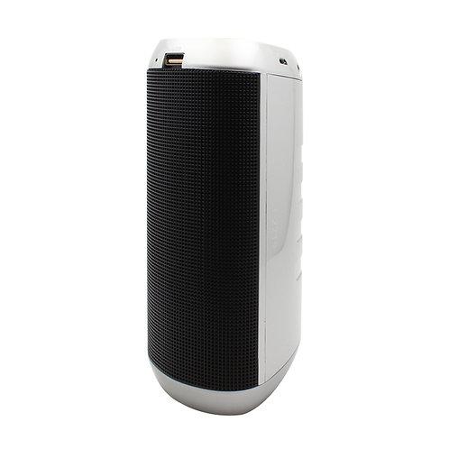 Silver Purifier LED Bluetooth Music Speaker
