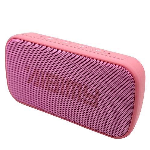 Pink Mini Power Bar LED Bluetooth Music Speaker