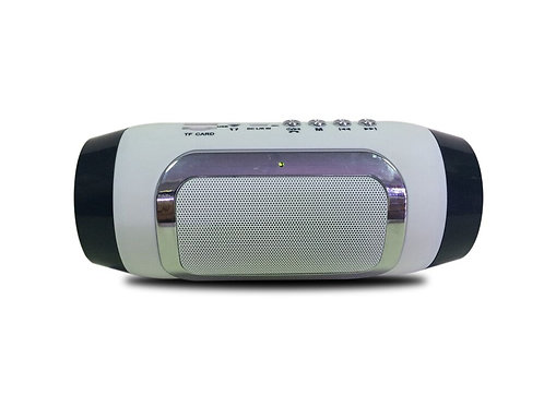 White Grenade Bluetooth Speaker
