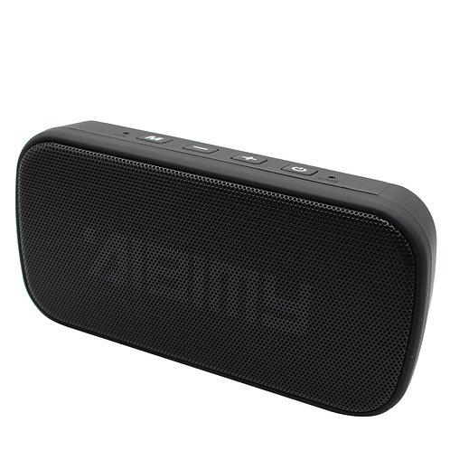 Black Mini Power Bar LED Bluetooth Music Speaker