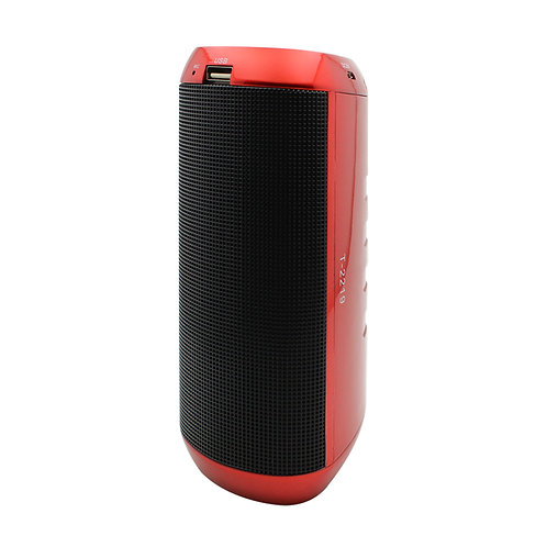 Red Purifier LED Bluetooth Music Speaker