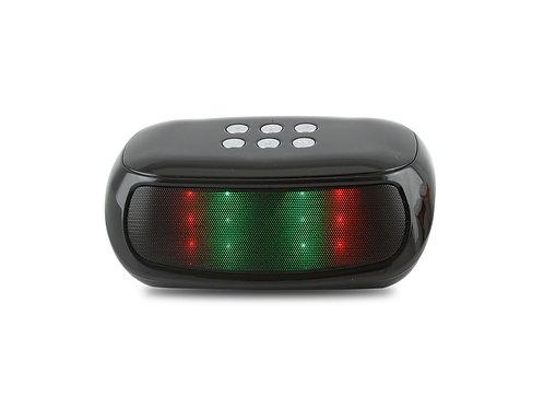 Black / Black Nightstand LED Bluetooth Speaker