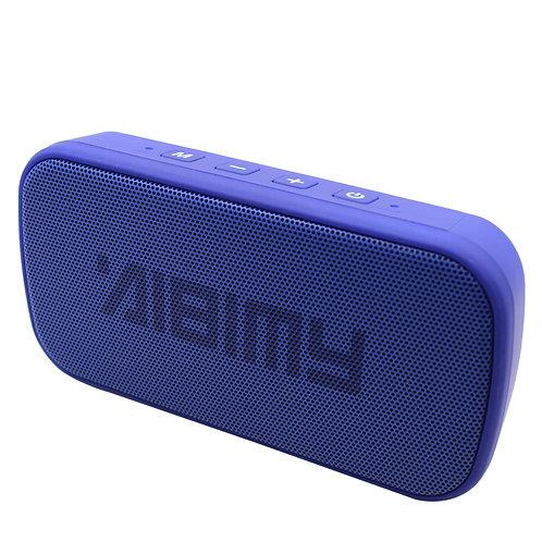 Blue Mini Power Bar LED Bluetooth Music Speaker
