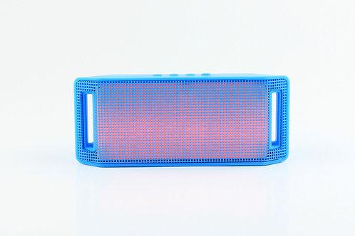 Blue Mini Handle Light Bluetooth Speaker