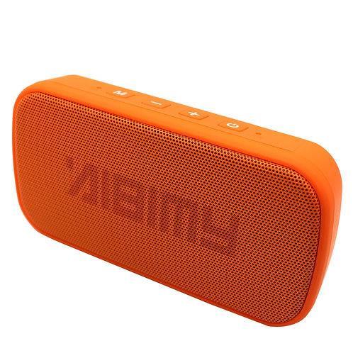 Orange Mini Power Bar LED Bluetooth Music Speaker