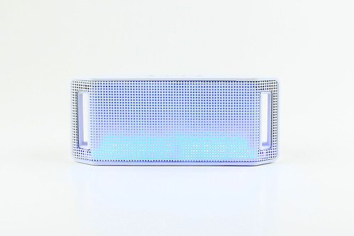White Mini Handle Light Bluetooth Speaker