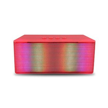 Red Spotlight LED Bluetooth Music Speaker