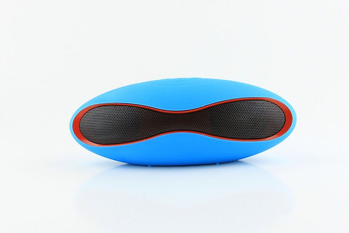 Blue Mini Gridiron Bluetooth Speaker
