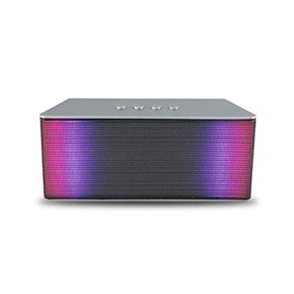 Silver Spotlight LED Bluetooth Music Speaker