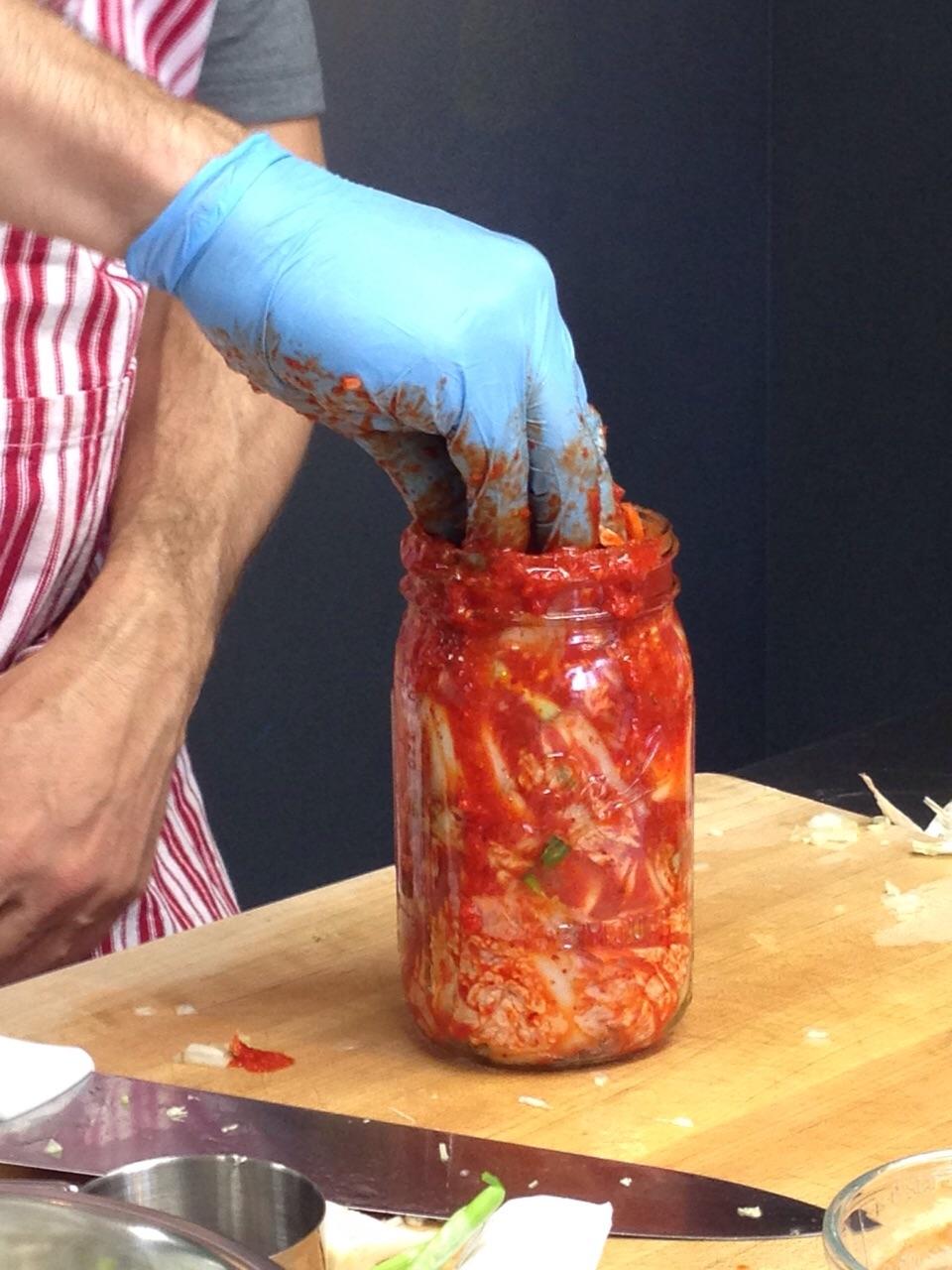 Alex Lewin y su kimchi