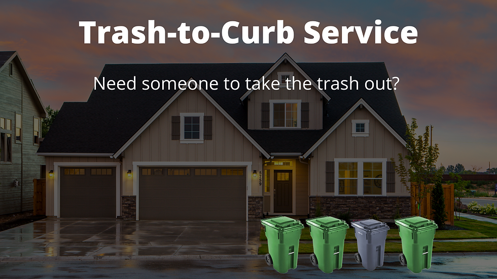residential garbage collection service (