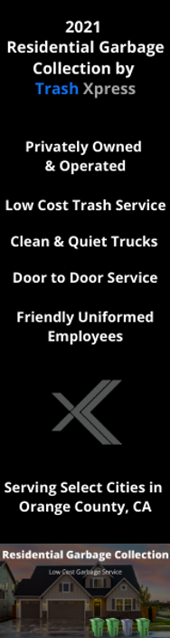residential garbage collection service o