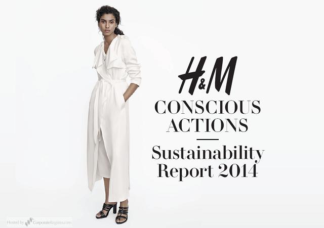 H&M サステナビリティレポート