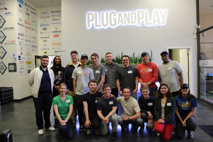 Students at Plug And Play Tech Center