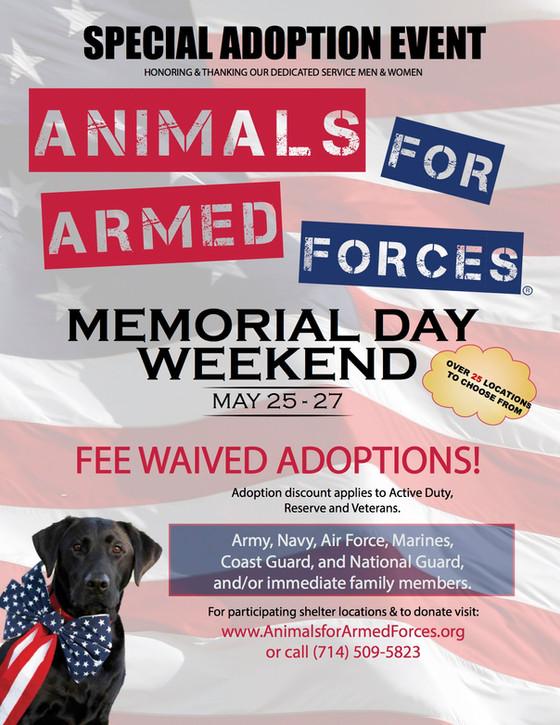 Memorial Day Weekend Event!