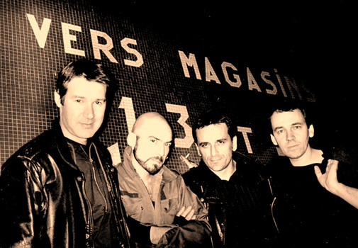 The Marsmallow Dykes ----- Classic Line-Up ----- Mig (guitare), Dark Lord (Basse), Murdock DK (chant), Rascal (batterie)