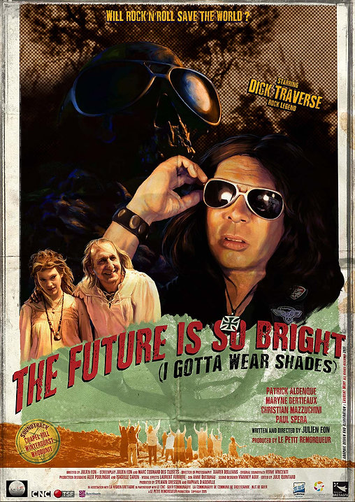 Poster the future is so bright julien eon film