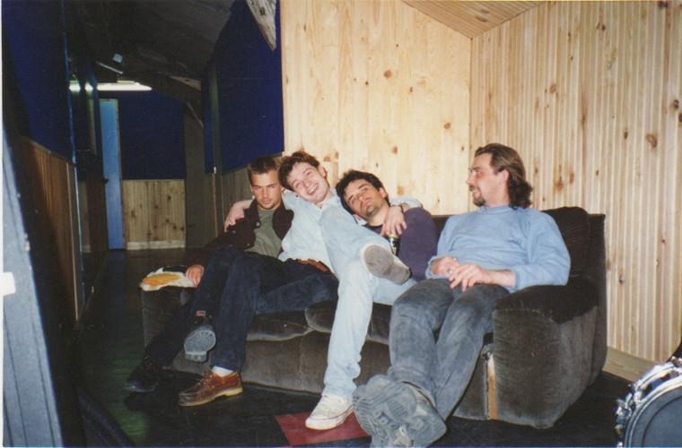 Early Dykes - Stef (basse), Laurent (batterie) et Loran (guitare) -  Répétition au Liberty Rock