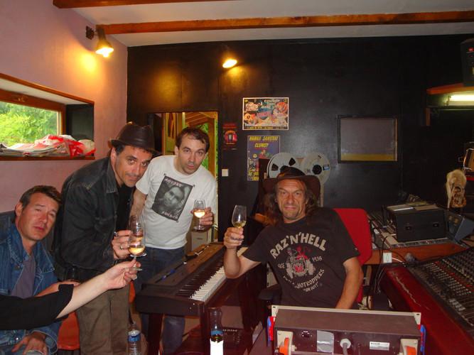Avec Lucas Trouble (R.I.P) au Kaiser Studio
