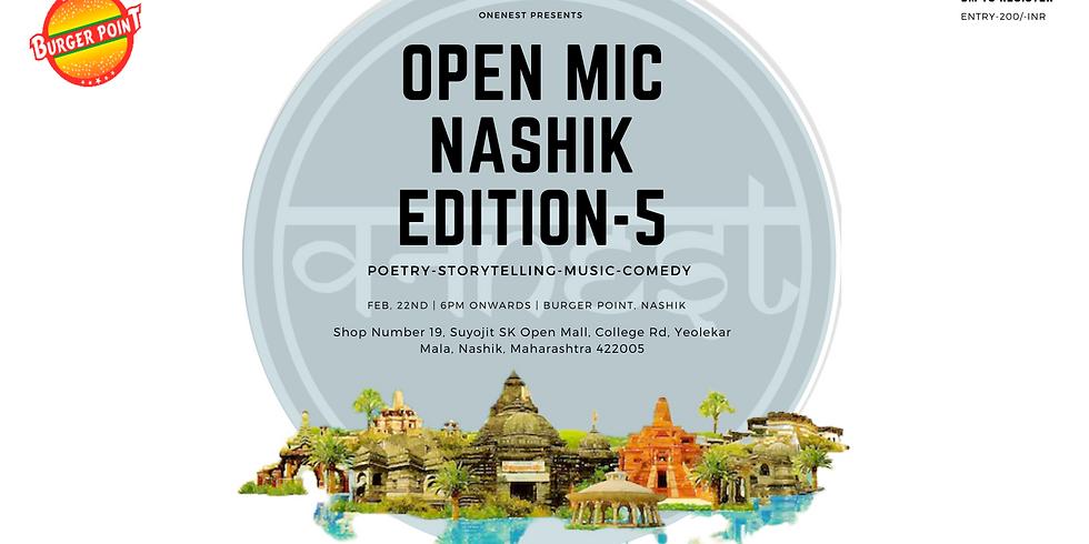 OPEN MIC  NASHIK EDITION -5