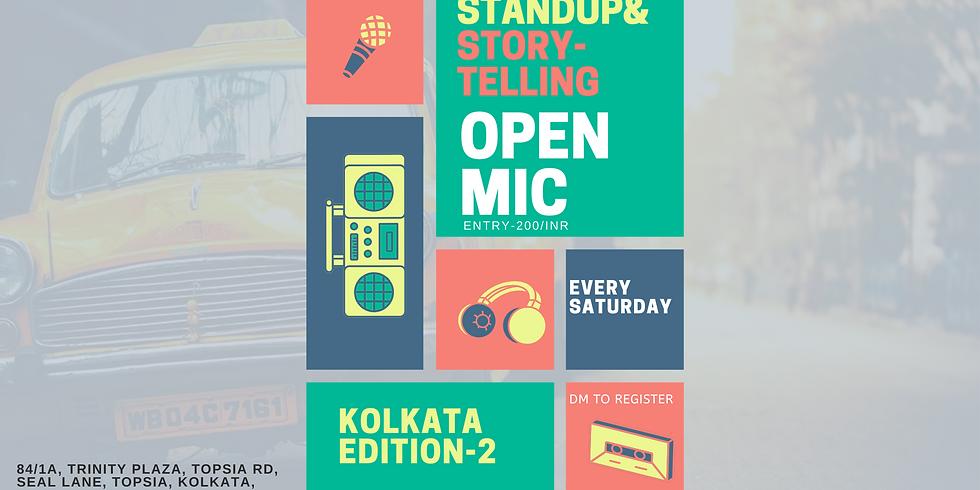 Story and Standup comedy open mic- Kolkata edition 2