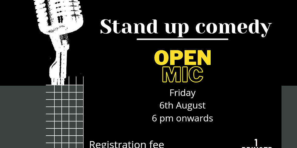 Stand up comedy Open mic Lucknow