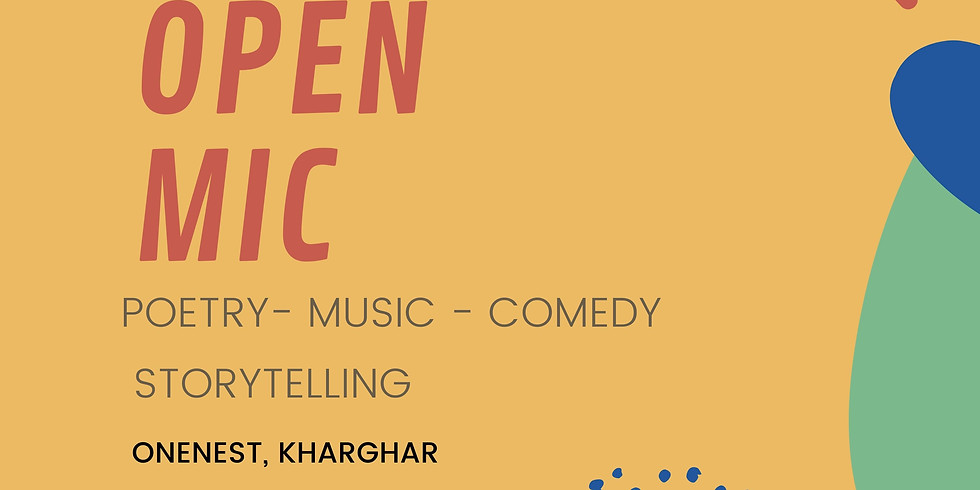 Open mic - Poetry, music, comedy, storytelling