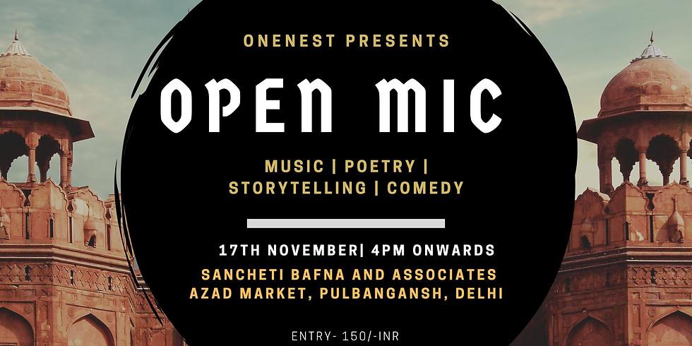 Open mic- Delhi Edition