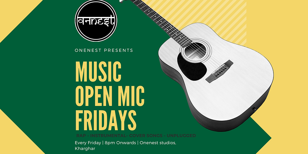 Music open mic Fridays