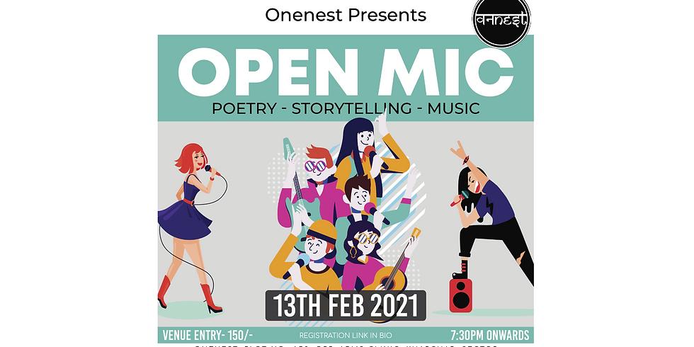 Poetry - Music- Storytelling Openmic- Onenest kharghar  (1)